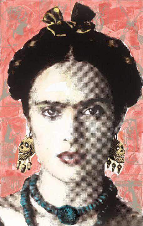 Schnell avanciert Frida (Salma Hayek) die künstlerische, sexuelle und politische Revolutionärin zu einer der meistgeschätzten Persönlichkeiten M... - Bildquelle: Buena Vista International