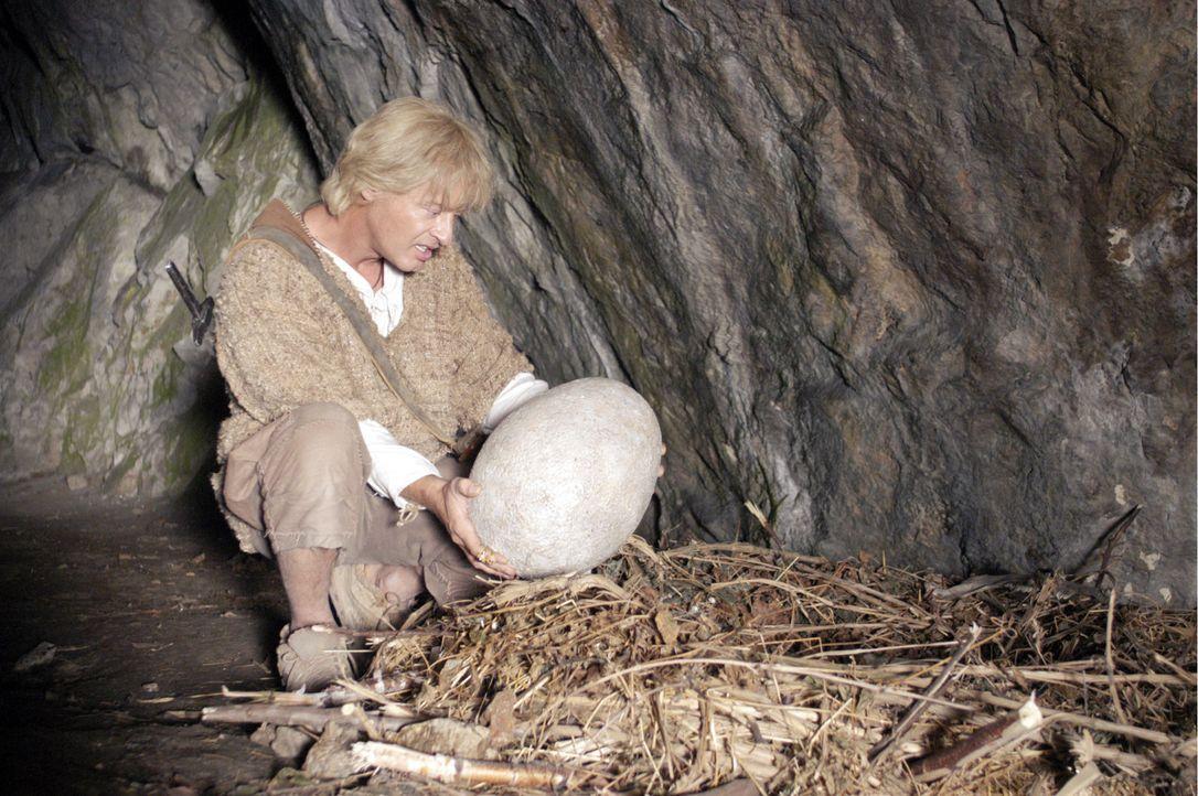 Auf der Suche nach dem sagenumwobenen Schatz findet Siegfried (Tom Gerhardt) ein Drachenei … - Bildquelle: Constantin Film