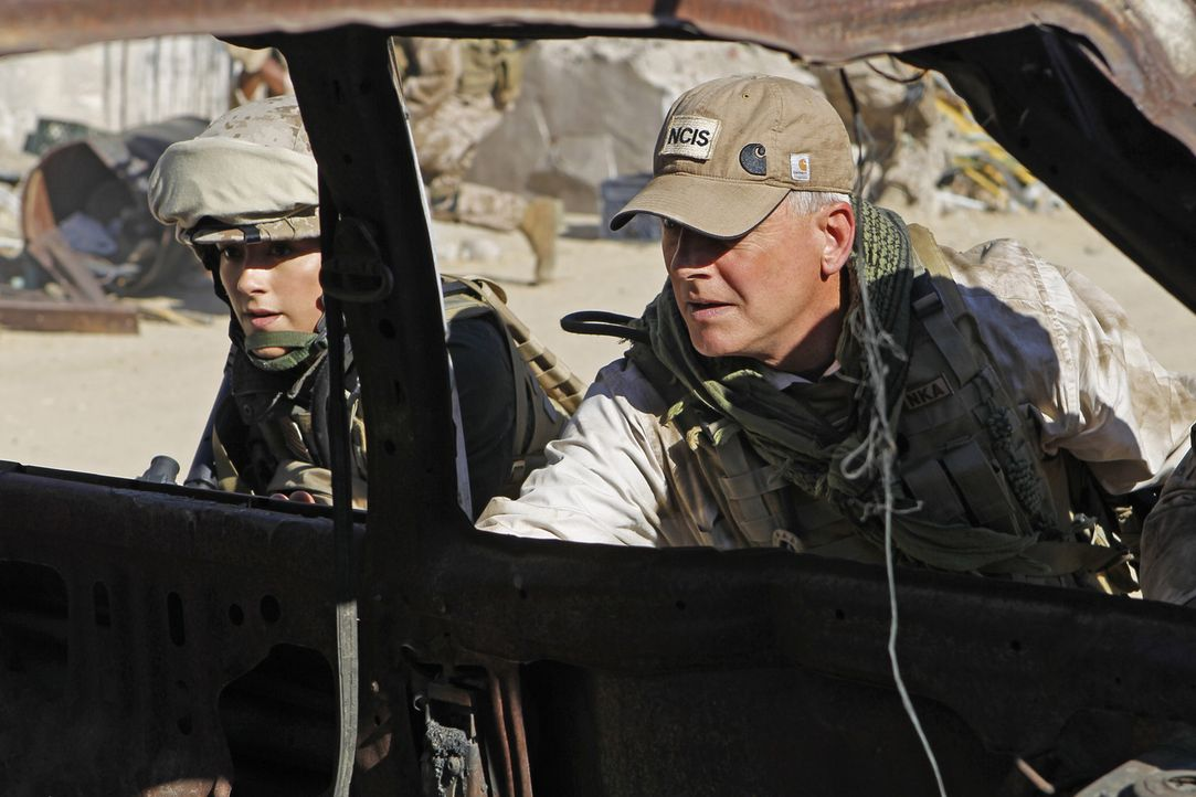 Das NCIS Team sucht weiter nach einer verschwundenen Marinesoldatin. Die Ermittlungen führen Gibbs (Mark Harmon, r.) und Ziva (Cote de Pablo, l.) an... - Bildquelle: CBS Television