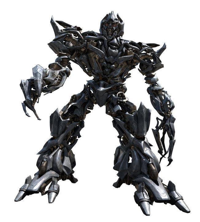Einst regierten die Brüder Optimus Prime und Megatron (Bild) gemeinsam den Planeten Cybertron, doch insgeheim scharte der machthungrige Megatron ein... - Bildquelle: 2008 DREAMWORKS LLC AND PARAMOUNT PICTURES CORPORATION. ALL RIGHTS RESERVED.
