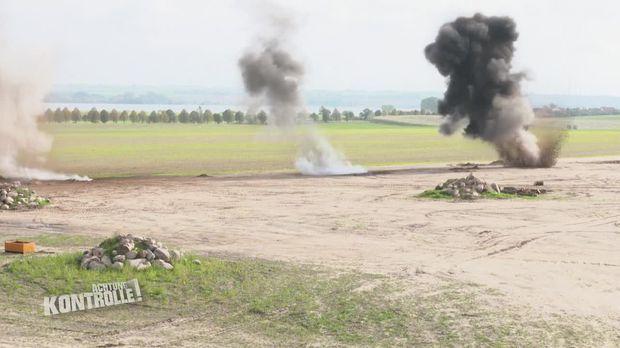 Achtung Kontrolle - Achtung Kontrolle! - Thema U.a.: Bombenalarm In Der Uckermark - Sprengmeister Im Einsatz