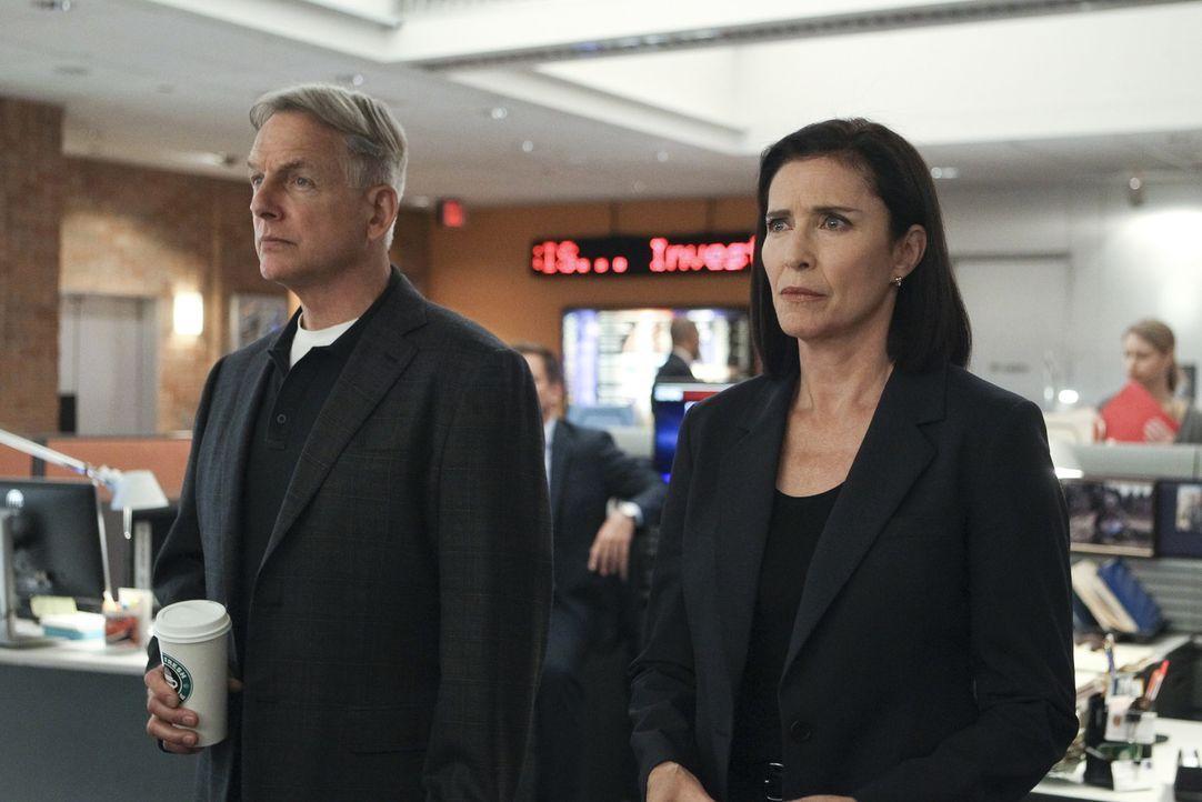 Nachdem ihr Sohn Ned Dorneget getötet wurde, arbeitet dessen Mutter CIA Officer Joanna Teague (Mimi Rogers, r.) mit dem Team um Gibbs (Mark Harmon,... - Bildquelle: Sonja Flemming CBS Television