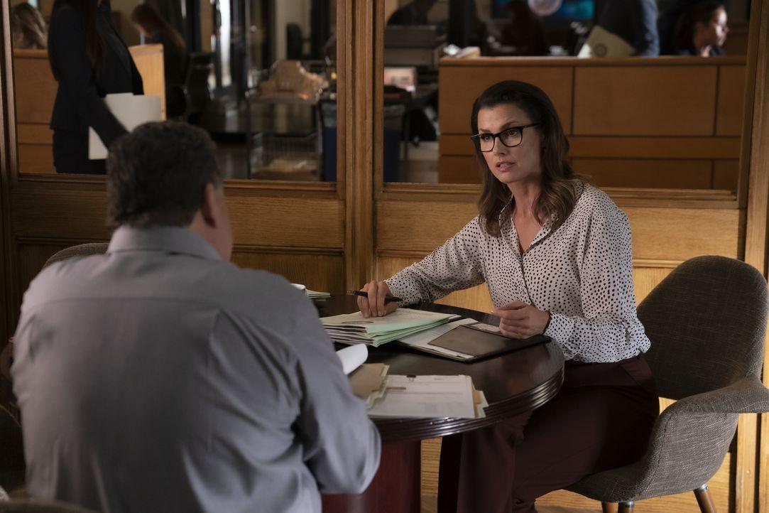 Anthony Abetamarco (Steve Schirripa, l.); Erin Reagan (Bridget Moynahan, r.) - Bildquelle: Patrick Harbron 2019 CBS Broadcasting Inc. All Rights Reserved. / Patrick Harbron