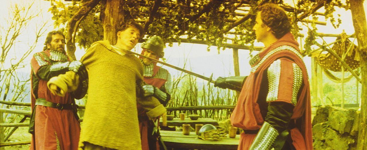 Der junge Taschendieb Phillipe (Matthew Broderick, 2.v.l.) wird von den Häschern des grausamen Bischofs von Aquila eingefangen ... - Bildquelle: 20TH CENTURY FOX FILM CORP. INC
