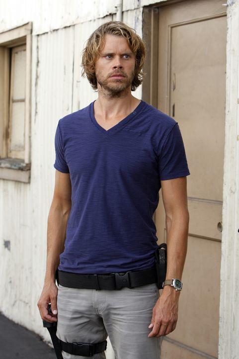 Ermittelt undercover in einem neuen Fall: Marty (Eric Christian Olsen) ... - Bildquelle: CBS Studios Inc. All Rights Reserved.