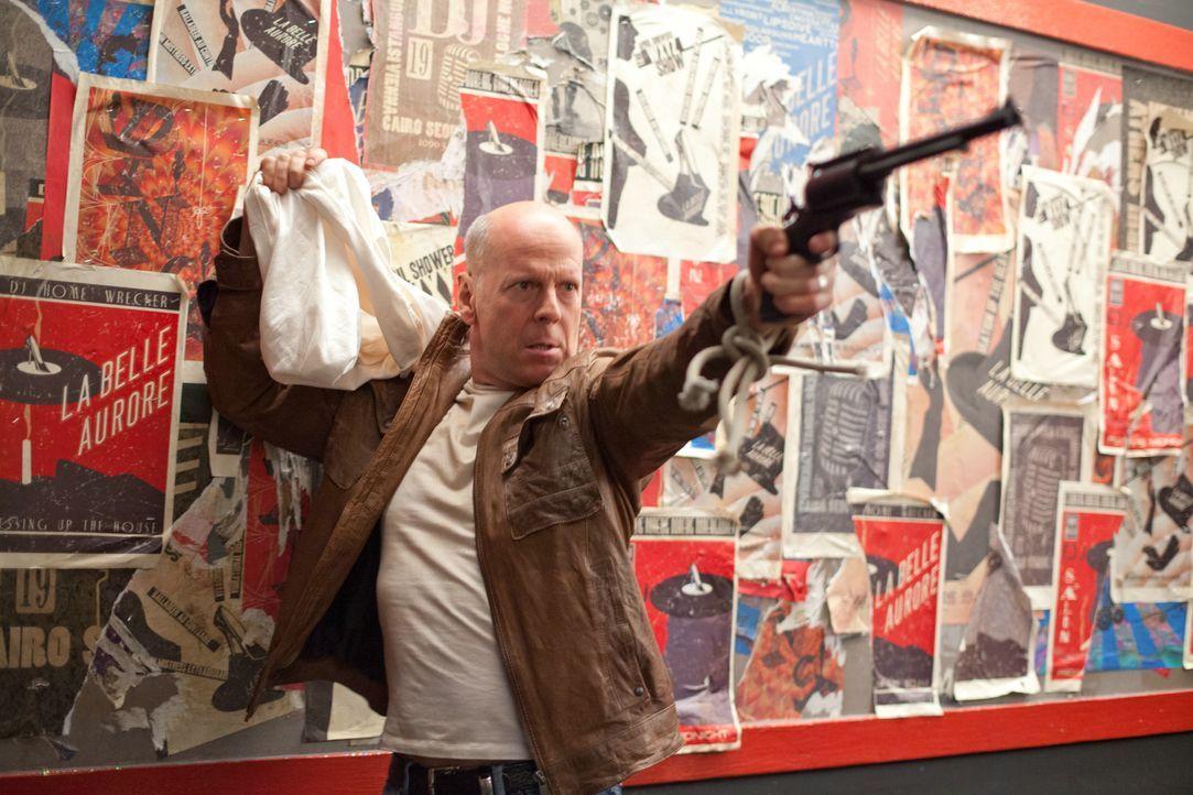 Kann erneut einer Falle entkommen: Joe (Bruce Willis) ... - Bildquelle: 2012 Concorde Filmverleih GmbH
