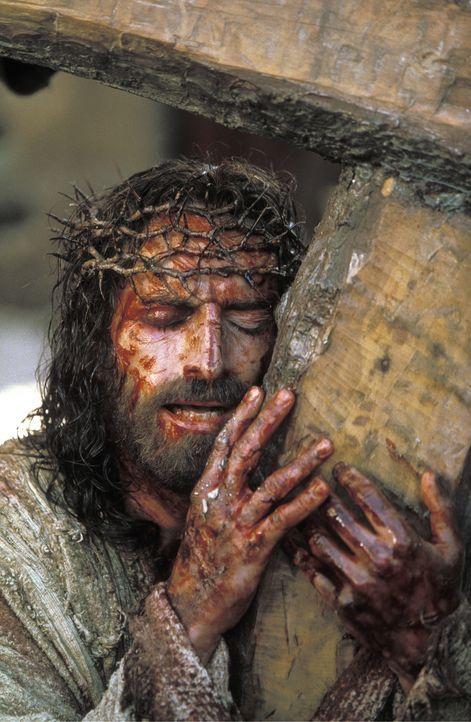 Auch im Angesicht des Todes widersteht Jesus seiner letzten Versuchung: der Angst, von seinem Vater aufgegeben worden zu sein ... - Bildquelle: Icon Film Distribution Ltd.