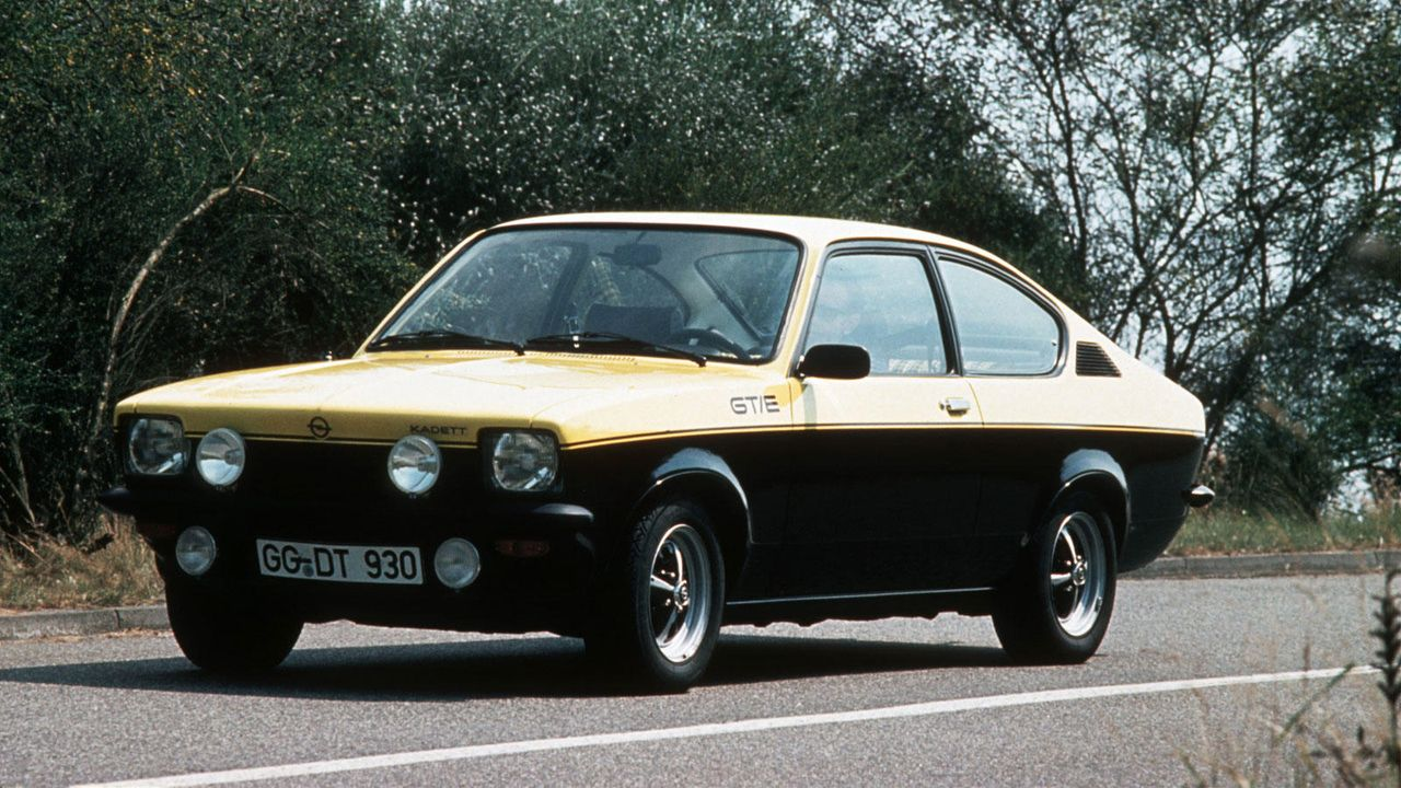 Kadett C GT/E - Bildquelle: Opel