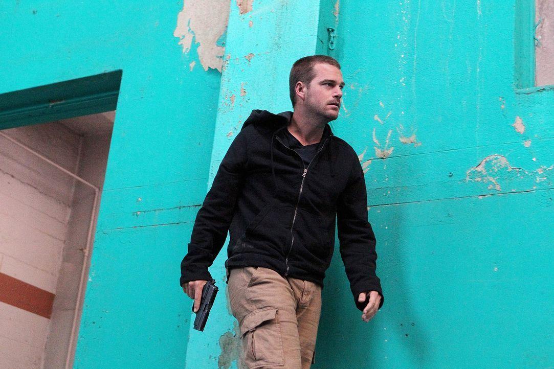 Auf der Suche nach seiner Identität: Callen (Chris O'Donnell) ... - Bildquelle: CBS Studios Inc. All Rights Reserved.