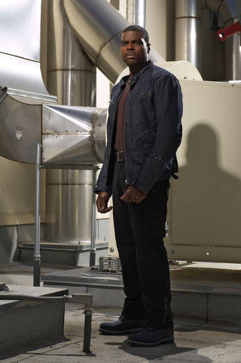 (1. Staffel) - Lässt sich nicht beirren: Frank Powell (Troy Winbush) ... - Bildquelle: CBS Television