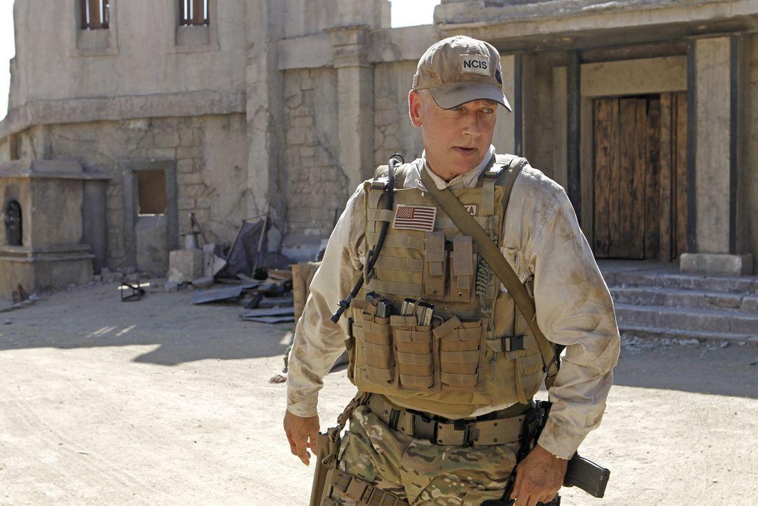 Versucht in Afghanistan, eine verschwundene Marinesoldatin zu finden: Gibbs (Mark Harmon) ... - Bildquelle: CBS Television