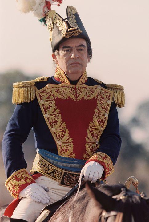 Versucht zurückzuholen, was die Amerikaner einst Mexiko raubten: Der mexikanische General Santa Anna (Emilio Echevarria) ... - Bildquelle: Disney - ABC International Television