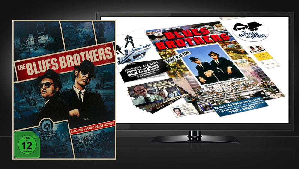 The Blues Brothers (Extended Version Deluxe Limited Digipak Edition - Blu-ra... - Bildquelle: Universal Pictures