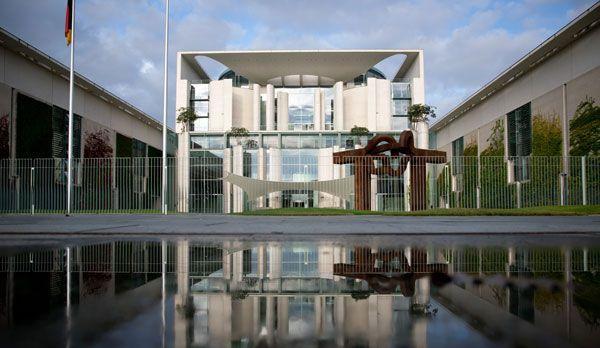Bundeskanzleramt - Bildquelle: dpa