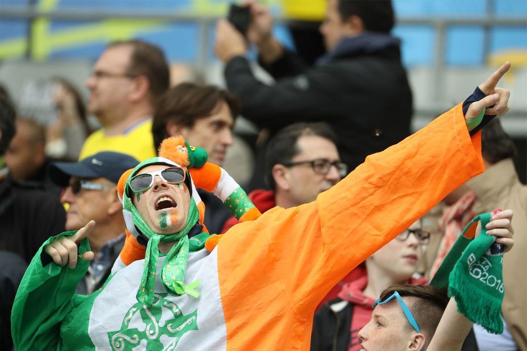 Irish_fan_bolt_pose_KENZO TRIBOUILLARD_AFP - Bildquelle: AFP / KENZO TRIBOUILLARD