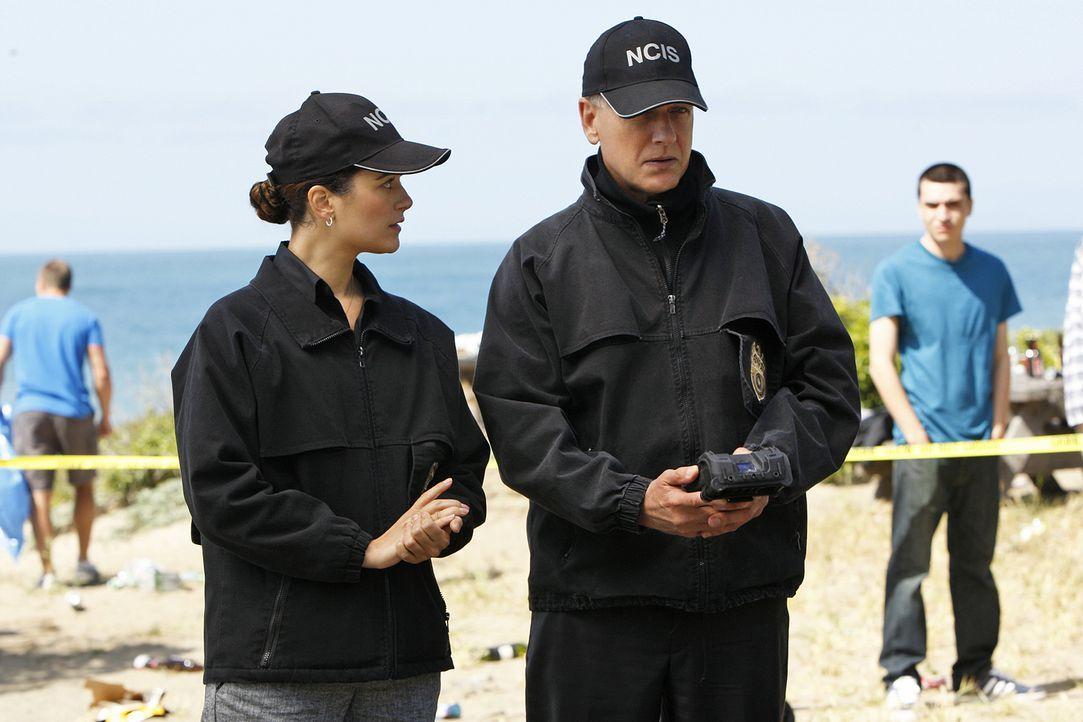 Ermitteln in einem neuen Mordfall: Gibbs (Mark Harmon, r.) und Ziva (Cote de Pablo, l.) ... - Bildquelle: CBS Television