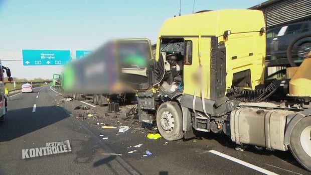 Achtung Kontrolle - Achtung Kontrolle! - Thema U.a.: Bei Lkw-crash Wird Eine Person Schwer Verletzt - Autobahnkontrolle Braunschweig