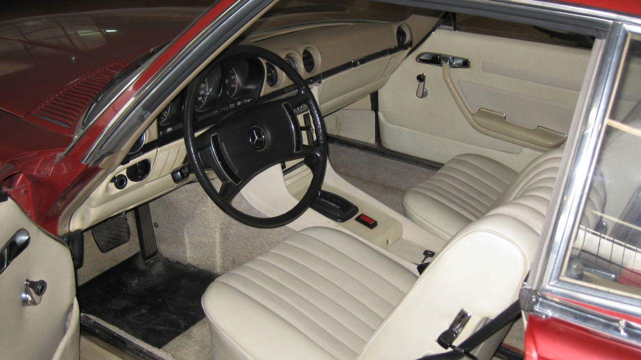 1973-er Mercedes 350 SL, 3,5 Liter V8 mit 200 PS - Bildquelle: kabel eins
