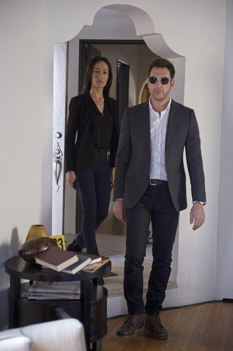 Als ein neuer Stalker sein Unwesen treibt, müssen Beth (Maggie Q, l.) und Jack (Dylan McDermott, r.) alles geben, um den Täter zu fassen ... - Bildquelle: Warner Bros. Entertainment, Inc.