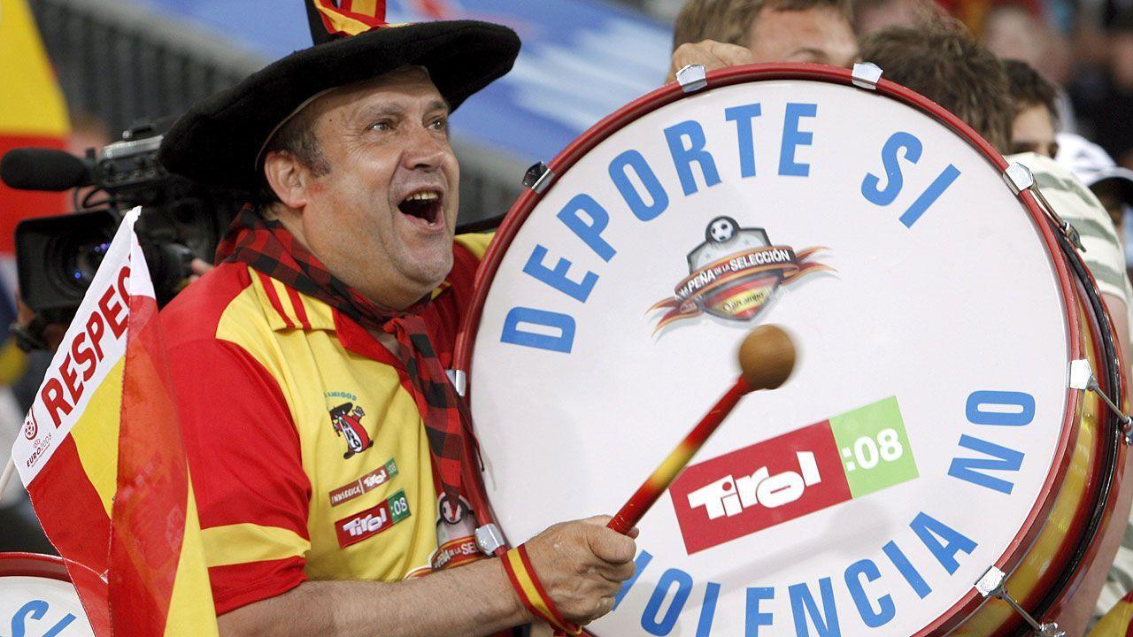 WM-Brasilien - Spanien-Fan Manolo - Bildquelle: dpa