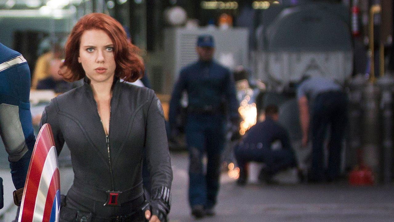 "Scarlett Johannson in ""The Avengers"" - Bildquelle: 2011 MVLFFLLC TM & 2011 Marvel"