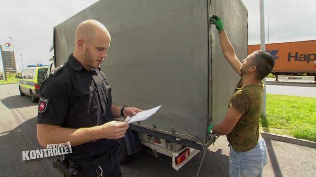 Achtung Kontrolle - Achtung Kontrolle! - Thema U.a.: Mangelnde Ladungssicherung Auf Der A1 - Polizei Rotenburg