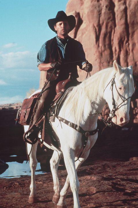 Als Mitch (Billy Crystal) im Hut des inzwischen verstorbenen Cowboys Curly eine alte Schatzkarte findet, flammt in ihm sofort die alte Wild-West-Beg... - Bildquelle: Warner Bros.