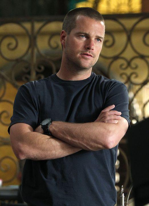 Als ein brennender Mann in einem Restaurant in Santa Monica stirbt, werden Callen (Chris O'Donnell) und seine Kollegen mit dem Fall beauftragt ... - Bildquelle: CBS Studios Inc. All Rights Reserved.