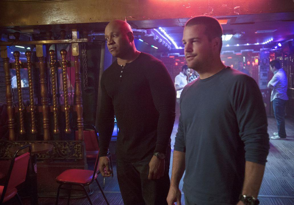 Ihr neuer Fall führt sie nach Mexiko: Sam (LL Cool J, l.) und Callen (Chris O'Donnell, r.) sind auf der Suche nach ihrem alten Bekannten, dem Profik... - Bildquelle: CBS Studios Inc. All Rights Reserved.