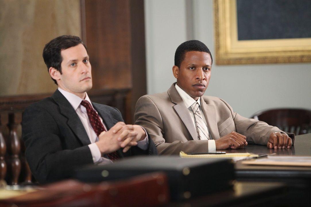 Der Langzeitkrimminelle Otis Williams (Ray Stoney, r.) wird beschuldigt, die Tochter eines der reichsten Männer der Stadt ermordet zu haben. Ist sei... - Bildquelle: ABC Studios