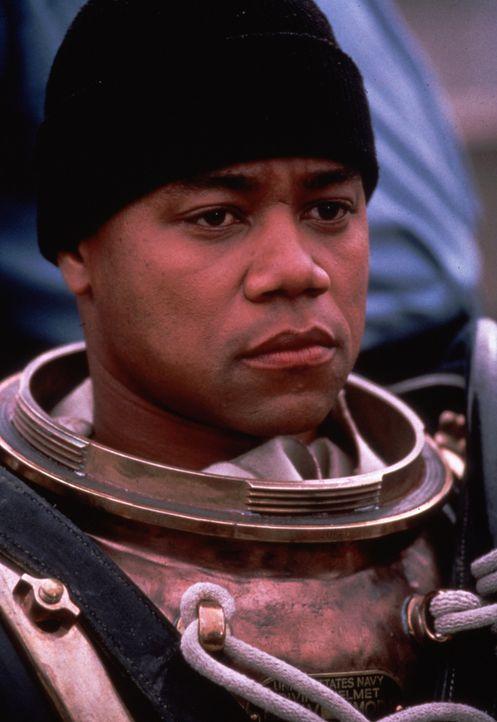 Carl Brashear (Cuba Gooding Jr.) weiß, dass man es als Farbiger bei der Navy nicht leicht hat, doch so leicht lässt er sich nicht unterkriegen ... - Bildquelle: 2000 Twentieth Century Fox Film Corporation. All rights reserved.