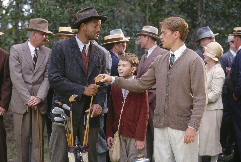 Gemeinsam sind sie stark: Bagger Vance (Will Smith, vorne l.) und (Matt Damon, vorne r.) ... - Bildquelle: 20th Century Fox Film Corporation
