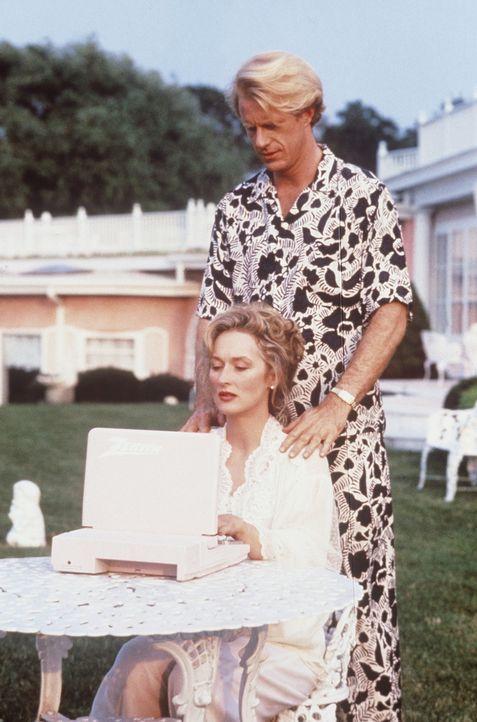 Wegen der blasierten Bestseller-Autorin Mary (Meryl Streep, l.) lässt Bob (Ed Begley jr., r.) einfach seine Ehefrau Ruth sitzen ... - Bildquelle: 20th Century Fox