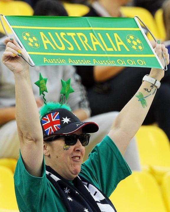Australischer Fußball-Fan - Bildquelle: AFP