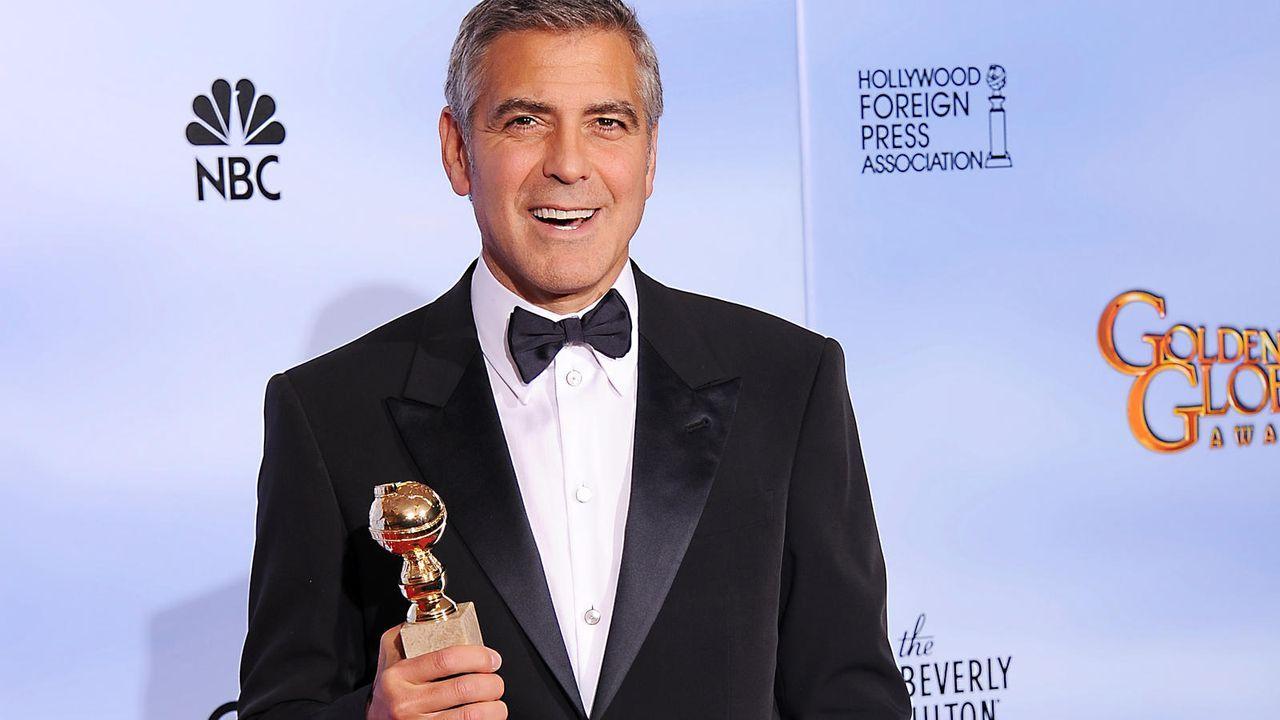 George Clooney auf den Golden Globes 2012 - Bildquelle: AFP