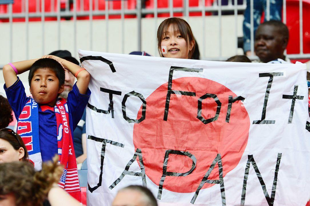 Die japanischen Fans - 5 - Bildquelle: AFP