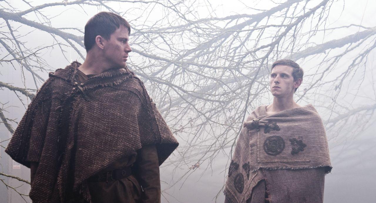 Marcus Aquila (Channing Tatum, l.); Esca (Jamie Bell, r.) - Bildquelle: 2011 Concorde Filmverleih GmbH
