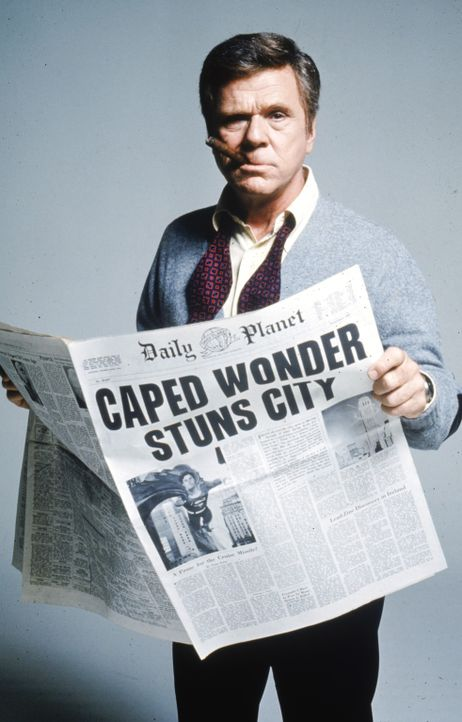 Perry White (Jackie Cooper) - Bildquelle: DC Comics.   1978 Warner Bros. Entertainment Inc. All rights reserved.
