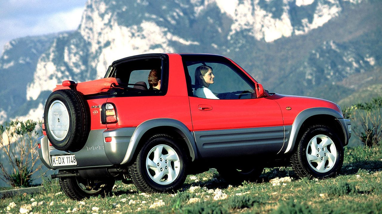 Toyota RAV4 - Bildquelle: Toyota/dpa/gms