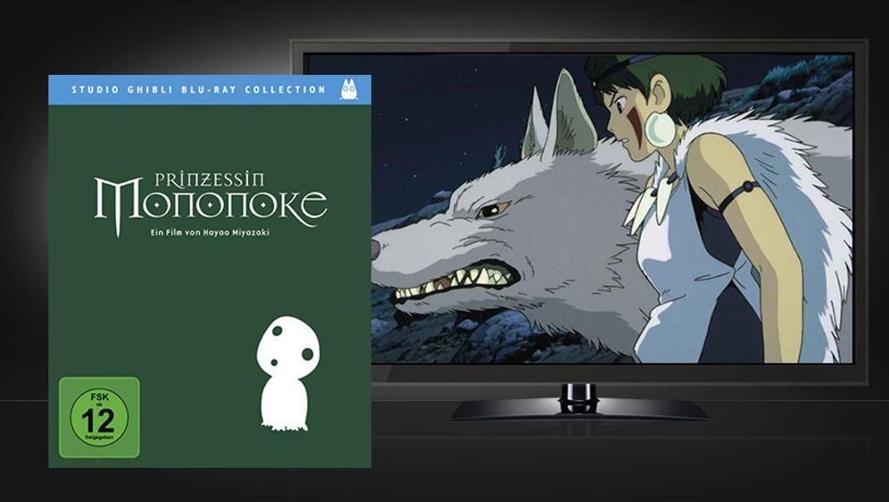 Prinzessin Mononoke (Blu-ray Disc) - Bildquelle: Universum Film