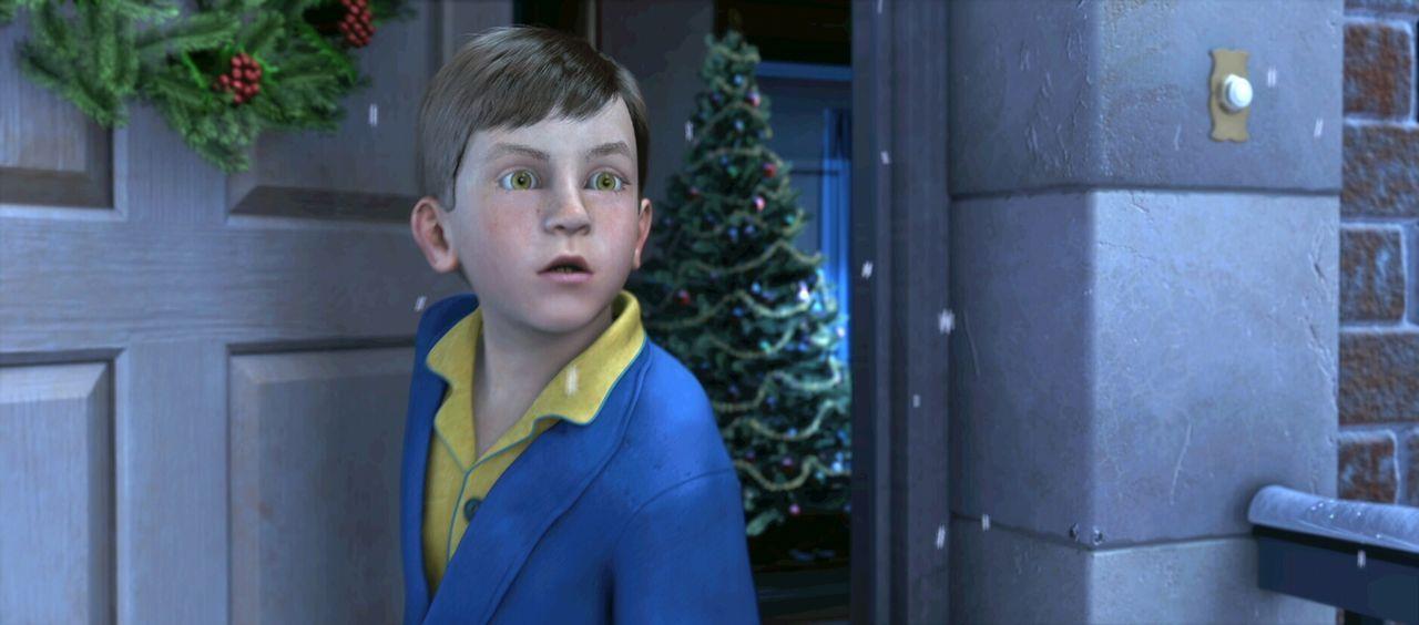Träumt er, oder steht da wirklich eine riesige Dampflok direkt vor seiner Tür? Am Abend vor Weihnachten beginnt für den kleinen Jungen ein unvergess... - Bildquelle: Warner Bros. Pictures