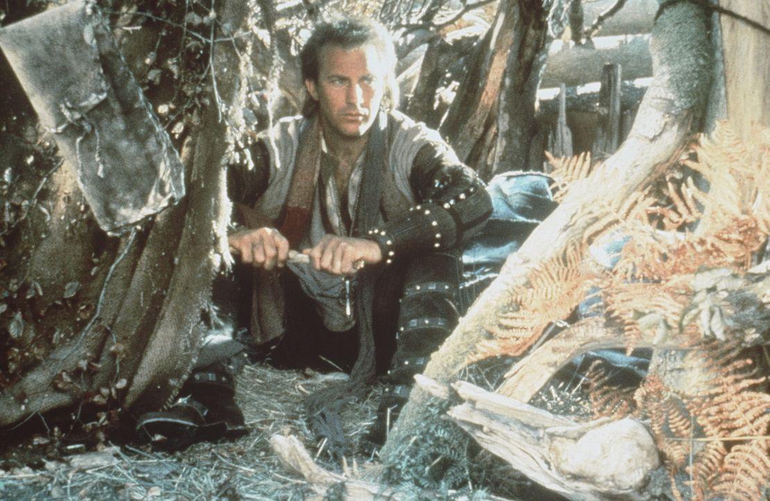Als Robin (Kevin Costner) nach langen Jahren von den Kreuzzügen nach England zurückkehrt, findet er seinen Vater ermordet und sein Hab und Gut ver... - Bildquelle: WARNER BROS.