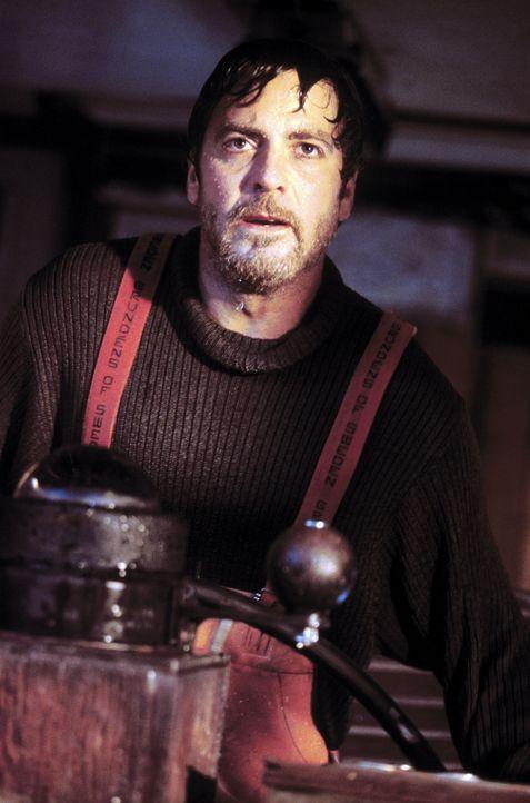 """Trotz Sturmwarnung sticht Kapitän Billy Tyne (George Clooney) mit dem Fischkutter """"Andrea Gail"""" an der amerikanischen Ostküste in See. Kurze Zeit sp... - Bildquelle: Warner Bros. Pictures"""