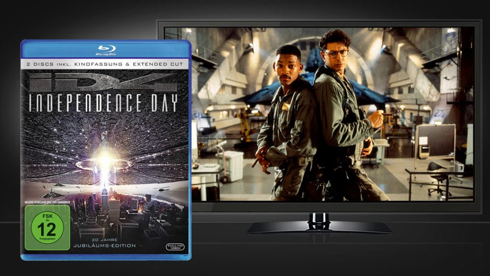 Independence Day - 20 Jahre Jubiläums-Edition (Blu-ray Disc) - Bildquelle: Twentieth Century Fox Home Entertainment