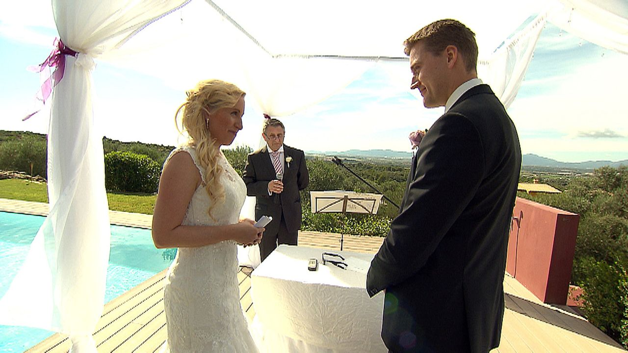 Immer mehr Brautpaare entschließen sich, auf Mallorca zu heiraten und vertrauen die Planung ihres großen Tages der erfahrenen Weddingplanerin Simone... - Bildquelle: kabel eins