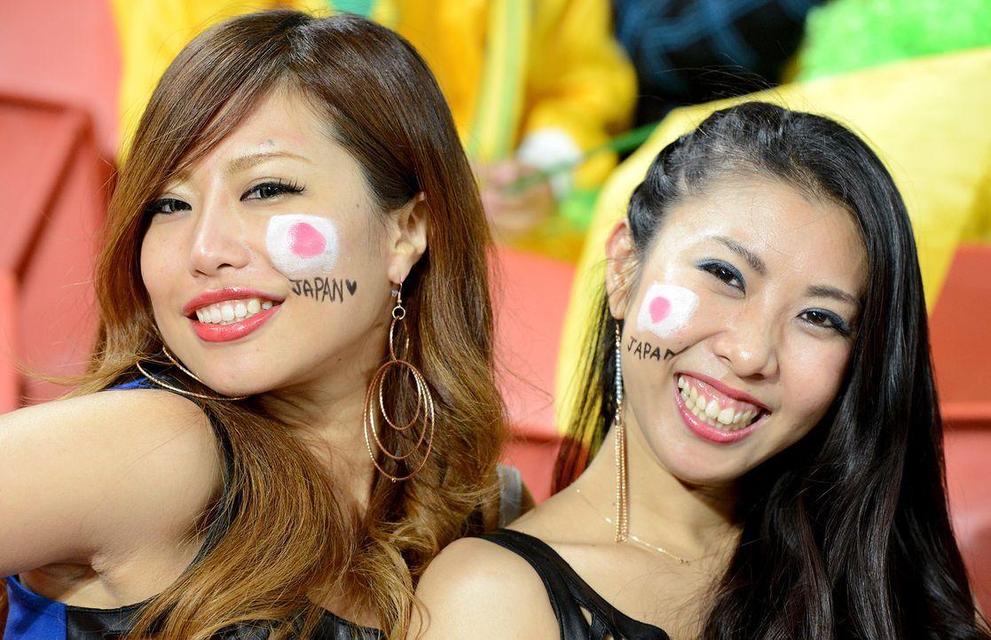Die japanischen Fans - 1 - Bildquelle: AFP
