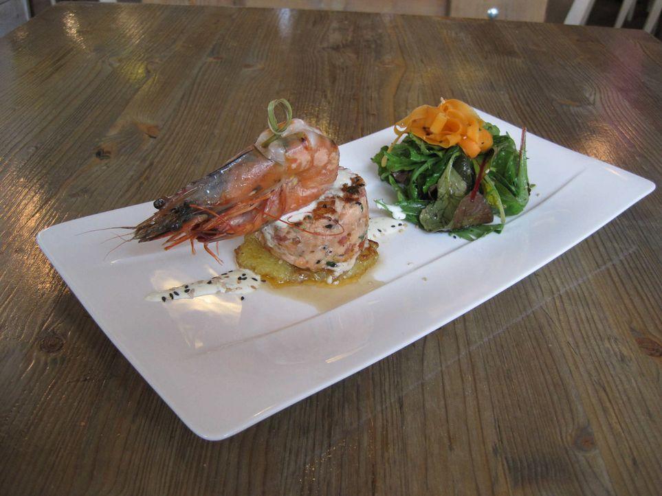 Zwei Menschen, die komplett unterschiedlicher Meinung sind: Michael Ränsch liebt Fisch, hat ein eigenes Fischrestaurant und kreiert ständig neue,... - Bildquelle: kabel eins
