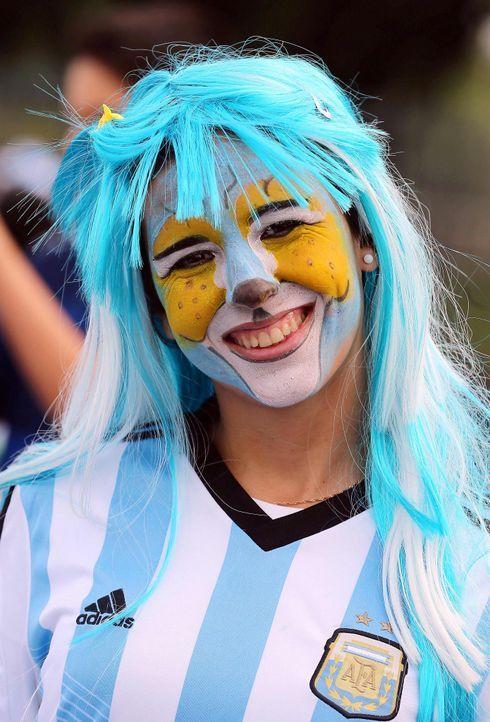 Argentinien-Fan-4 - Bildquelle: dpa