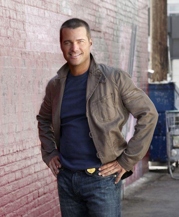 (1. Staffel) - Ermittelt Undercover im sonnigen Los Angeles, um die nationale Sicherheit zu wahren: Special Agent G. Callen (Chris O'Donnell) - Bildquelle: CBS Studios Inc. All Rights Reserved.