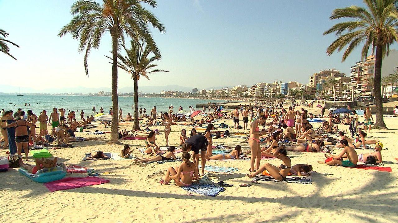 Mallorca gehört zu den Lieblingsinseln der Deutschen. Doch ist Spanien wirklich das beliebtesten Reiseziel 2018? - Bildquelle: kabel eins